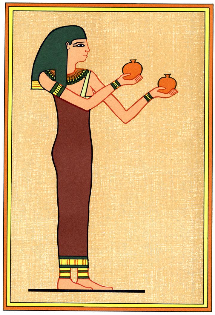 Según la mitología egipcia, Menqet era la diosa de la cerveza y ella gobernaba el lugar de las cañas